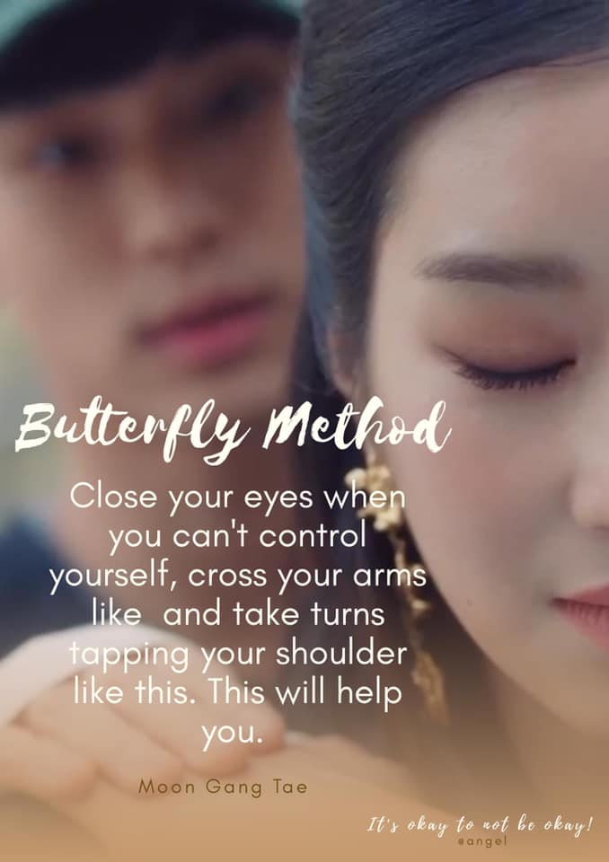 close your eyes when you cann`t control yourself-