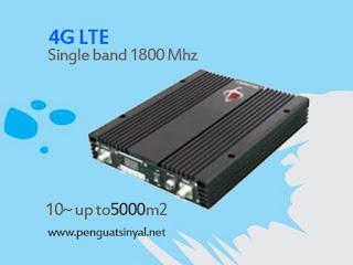 Repeater Resmi Penguat Sinyal Singleband 4G LTE 1 Watt