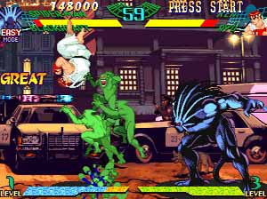 Marvel vs Street Fighter arcade download free