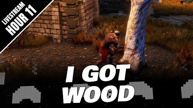 LEGENDS OF ULTIMA Gameplay (Hour 11) • I GOT WOOD!