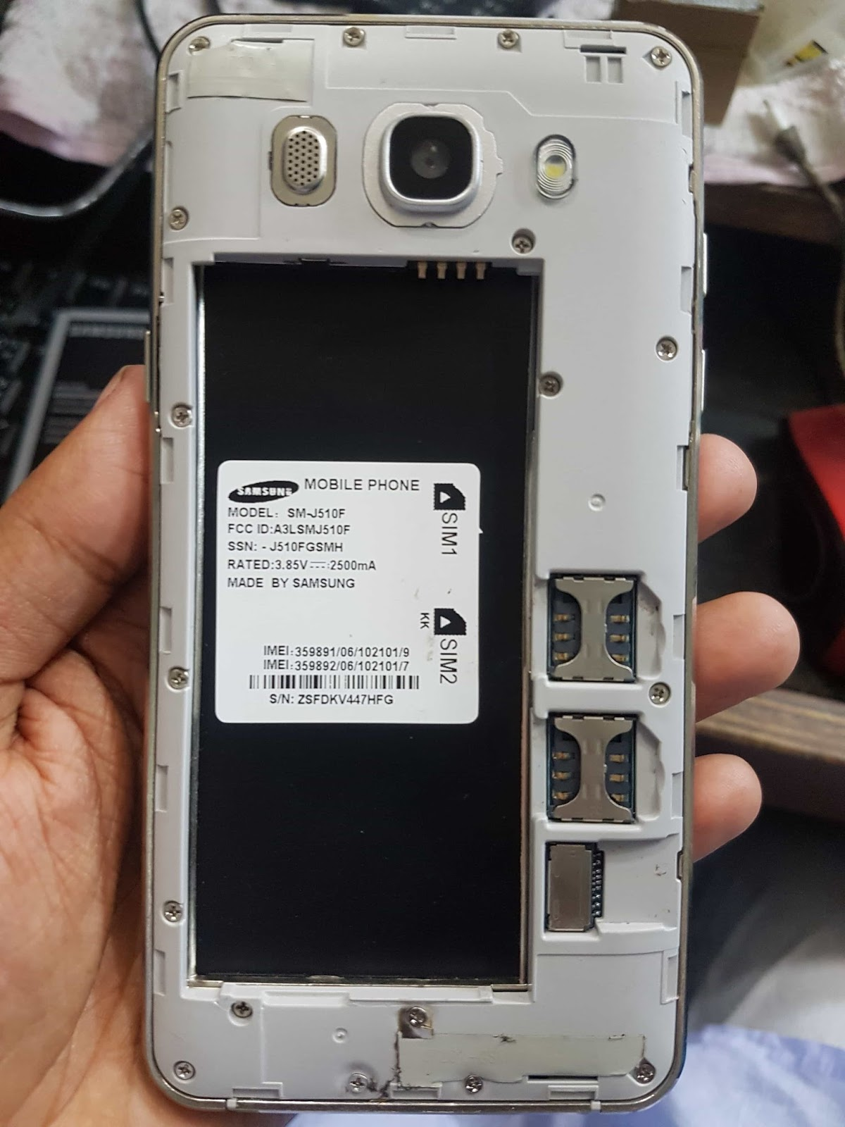 Samsung J5 6 Flash File