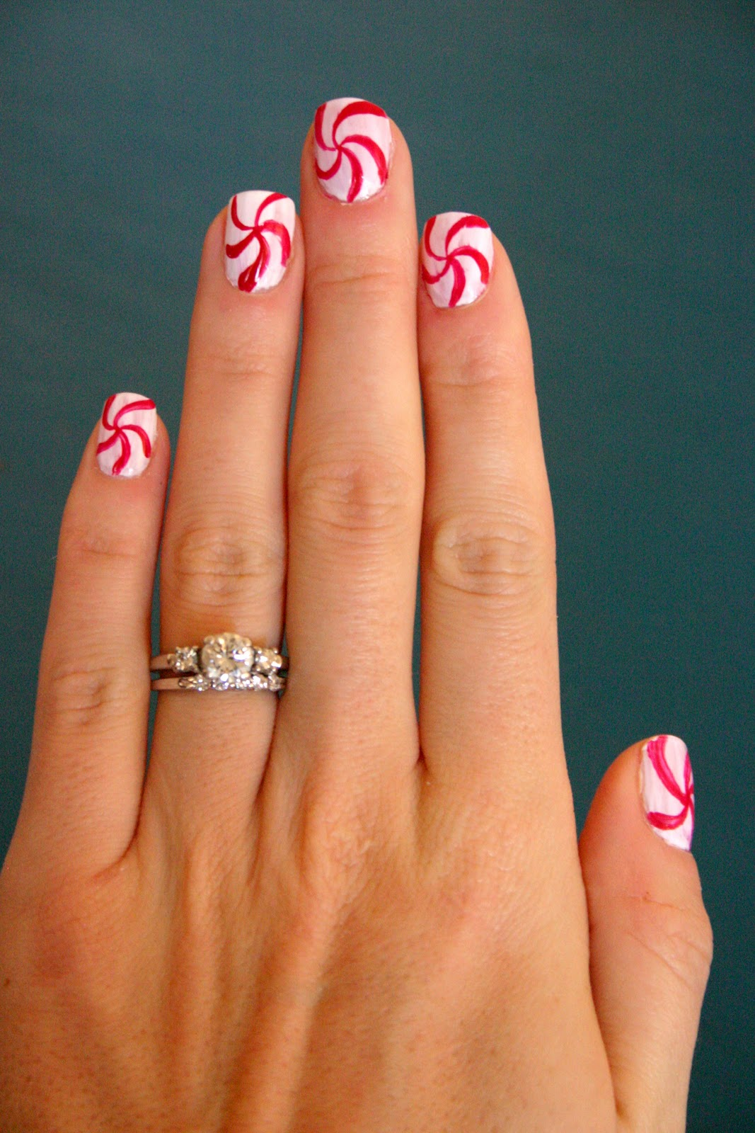 Christmas Nail Art French Manicure Red With White: Sweet Lavender Bake Shoppe: Recipe: Vanilla Bean