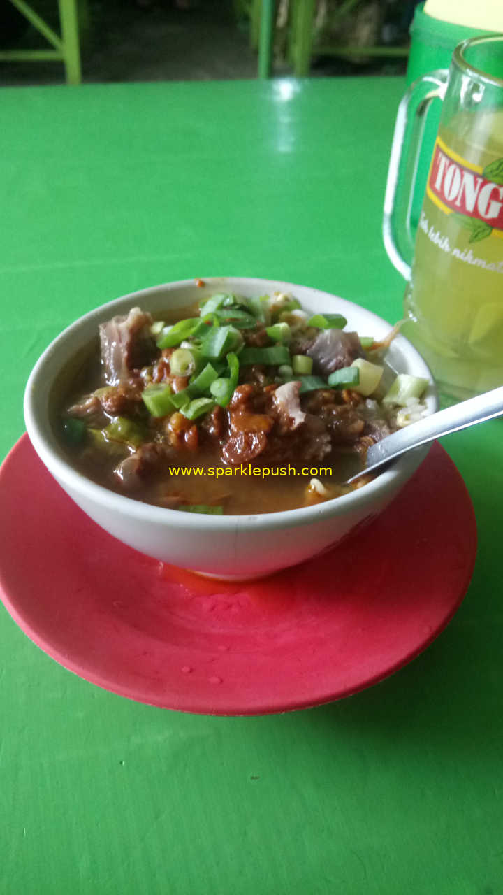 Penampakan Soto Moro Tresno Kuliner Khas Tegal