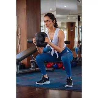 manushi chhillar gym