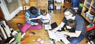 فيروس كورونا: كيف نشغل وقت الأطفال بعد إغلاق المدارس؟