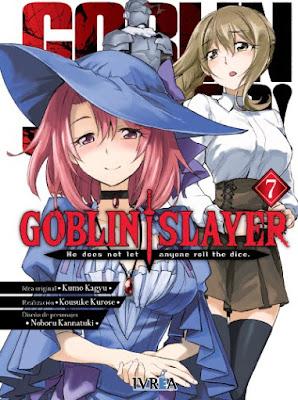 Reseña de Goblin Slayer (manga) vols. 7 y 8, de Kumo Kagyu y Kousuke Kurose. - Ivréa.