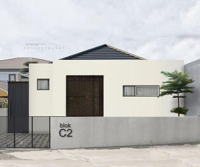 Desain Fasad Rumah Tropis Modern Minimalis