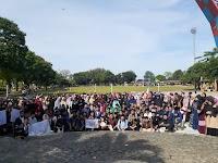 Ratusan Muda-Mudi Ramaikan Gerakan Menutup Aurat 2020 di Binjai