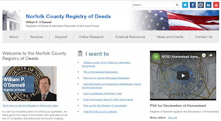 Register O'Donnell Promotes Registry of Deeds Internet Research