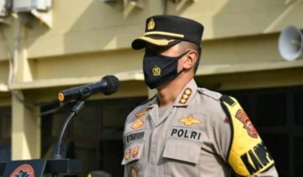 Kapolresta Cirebon Pimpin Sertijab empat Kapolsek
