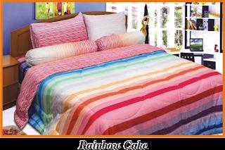 Sprei & BedCover Impression - Rainbow Cake