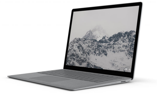 Microsoft Rilis Surface Laptop dan OS Windows 10 S