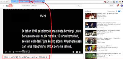 Cara Download Film di Youtube tanpa menggunakan IDM