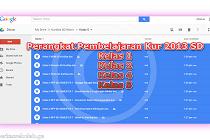 Perangkat Pembelajaran Kurikulum 2013 SD Update