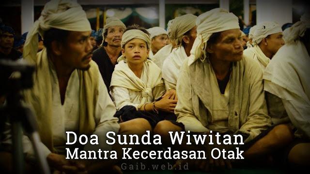 Doa Sunda Wiwitan Mantra Kecerdasan Otak