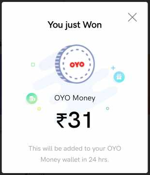 OYO Shake & Win Contest - Just Shake Your Phone & Earn Free