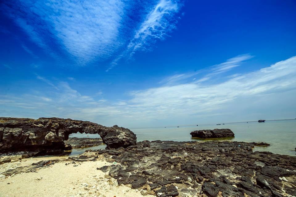 Hình ảnh quen thuộc ở đảo Lý Sơn