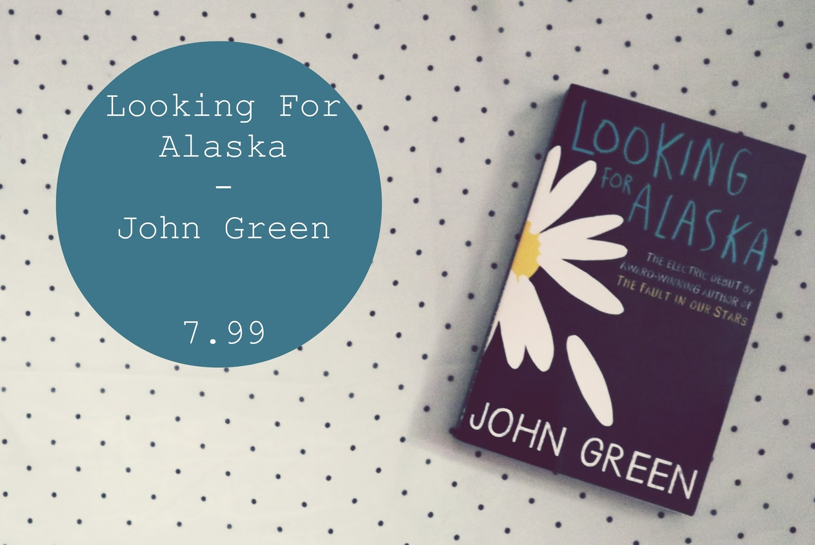 looking for alaska book review This was my first john green experience and i loved it looking for alaska reminded me a lot of jd salinger's catcher in rye that i read in highschool, aka the only book that i really enjoyed reading in school.