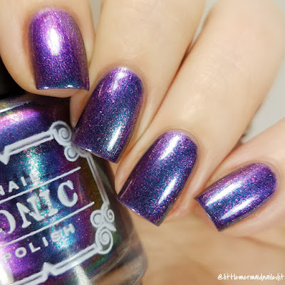 Tonic Polish Hush Multichrome Madness Exclusives Swatches and Review