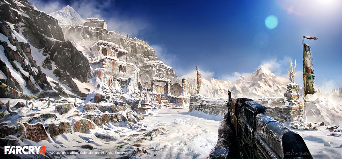 Alan Zhang Xu Zhang Concept Art And Design Update Some My Far Cry 4 Concept Art