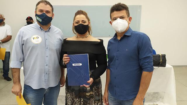 Prefeito Juninho Alves e reitora Ludimilla Oliveira anunciam intenção de implantar curso de Medicina na Ufersa em Caraúbas