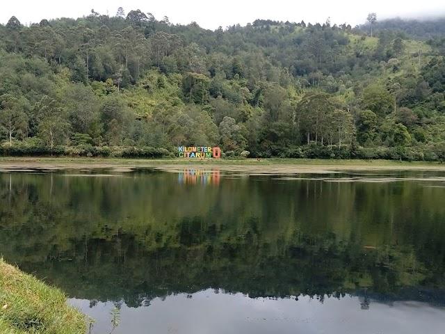 Segarnya Alam di Situ Cisanti, Hulu Sungai Citarum