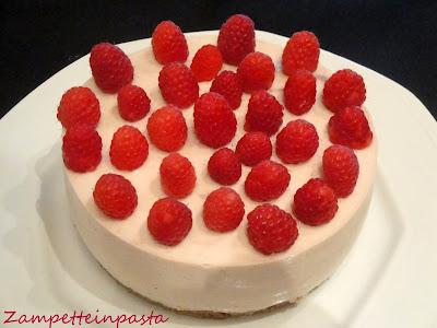 Cheesecake allo yogurt e marmellata - Dolce freddo senza forno