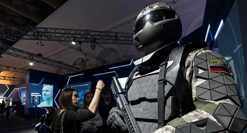 SCI-TECH : La Russie élabore des exosquelettes militaires et des «exochaises» pour les ouvriers