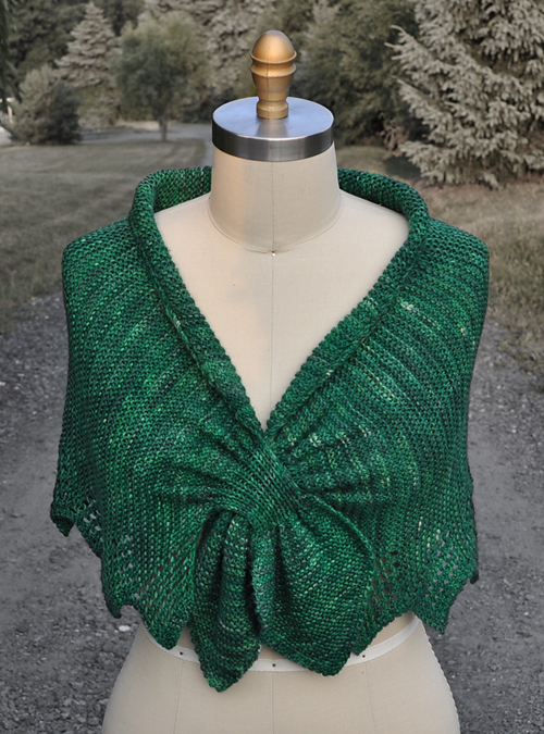 Carol's Clever Little Shawl - Free Pattern