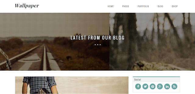 Wallpaper Blogger Template