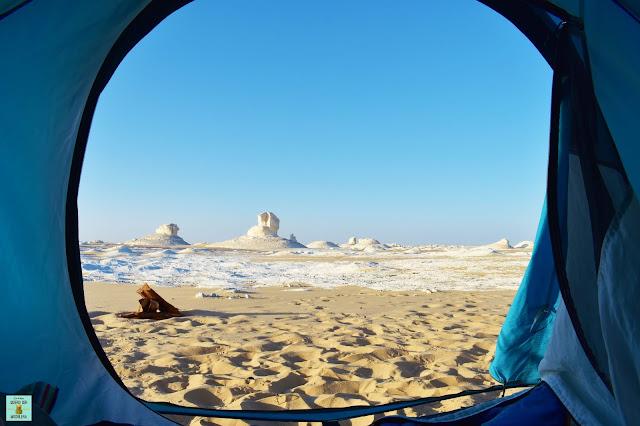 Desierto Blanco de Egipto