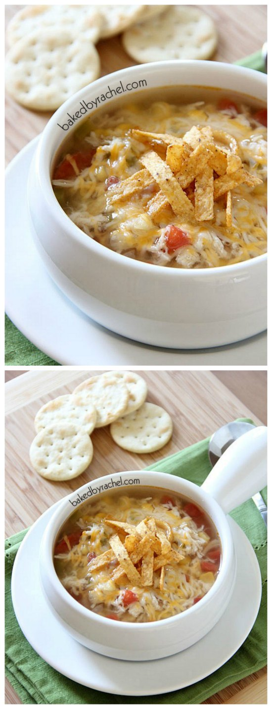 Cooker from Scratch®: Slow Cooker Chicken Tortilla Soup from Baked ...