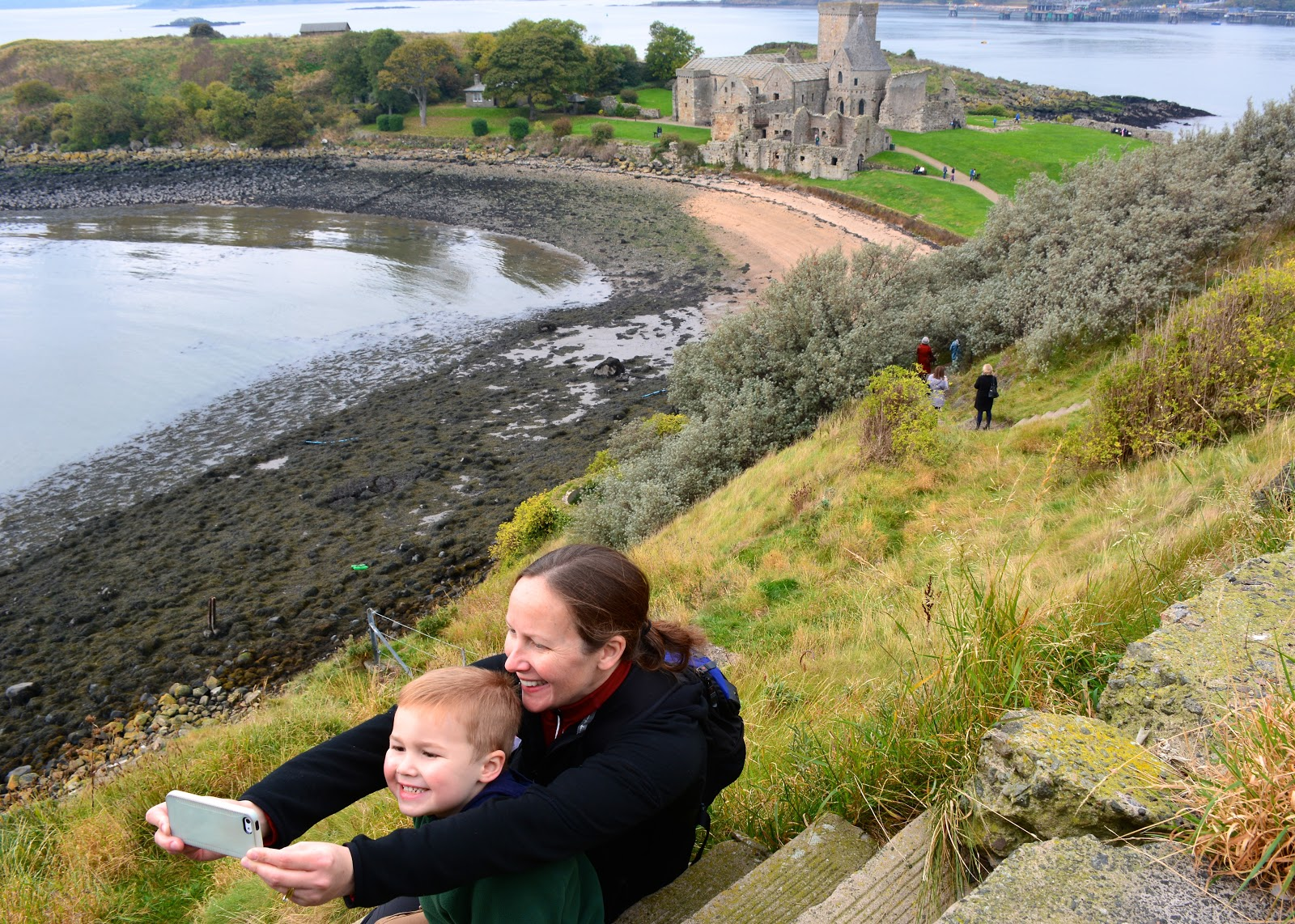 Inchcolm in the Firth of Forth