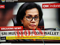 Hoax Menteri Keuangan Sri Mulyani Memiliki 1.200 Bitcoin