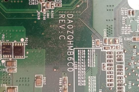 DA0ZQHMB6C0 REV C ACER 4739 Laptop Bios