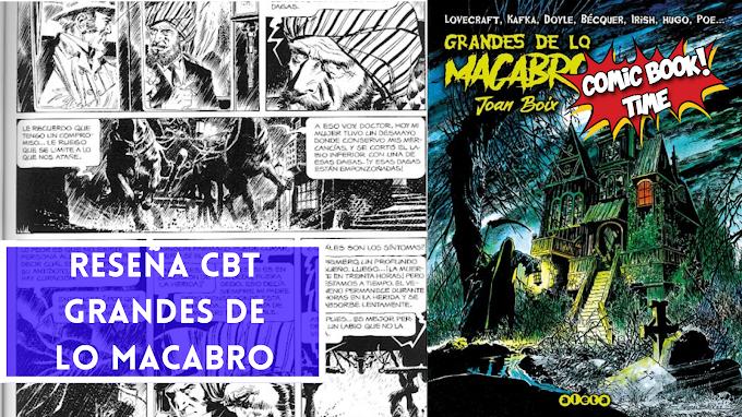"""""""Grandes de lo Macabro"""": las mejores historias de terror de Joan Boix   Editado por Aleta"""