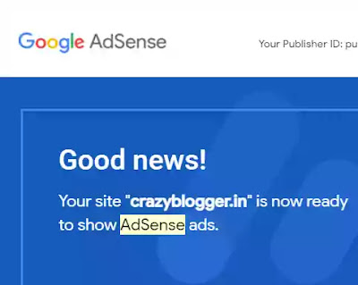 adsense approval trick for blogger and wordpress.