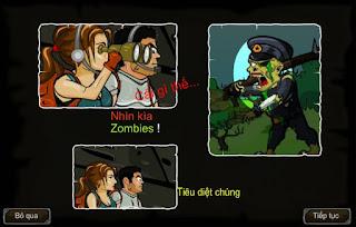 Game vùng đất chết tiêu diệt zombie hay