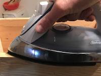 Ironing the veneer