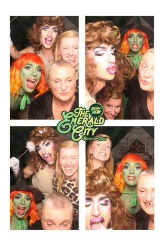 madmumof7 with drag queens and friend
