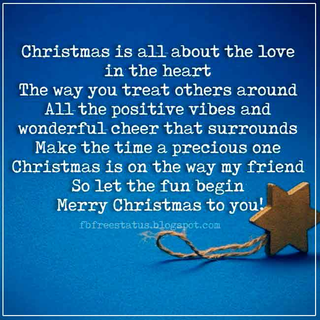 Merry Christmas saying and Pictures