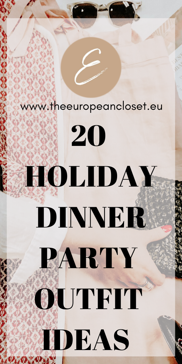 The Holidays are around the corner and with them come dinner parties. Are you going to one but are too busy with work or any other holiday-related activity to even think about what to wear? Don't worry, I'm here to help.   Below are 20 holiday dinner party outfit ideas I've created on my URSTYLE account to make your life a little less stressful.  #fashion #style #holidayoutfitideas