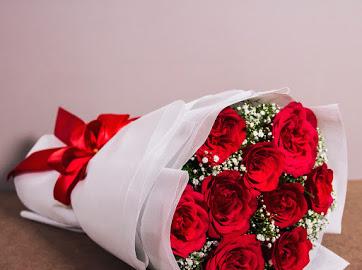 bunga sebagai hadiah spesialku untuk suami