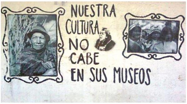 Nuestra cultura no cabe en sus museos