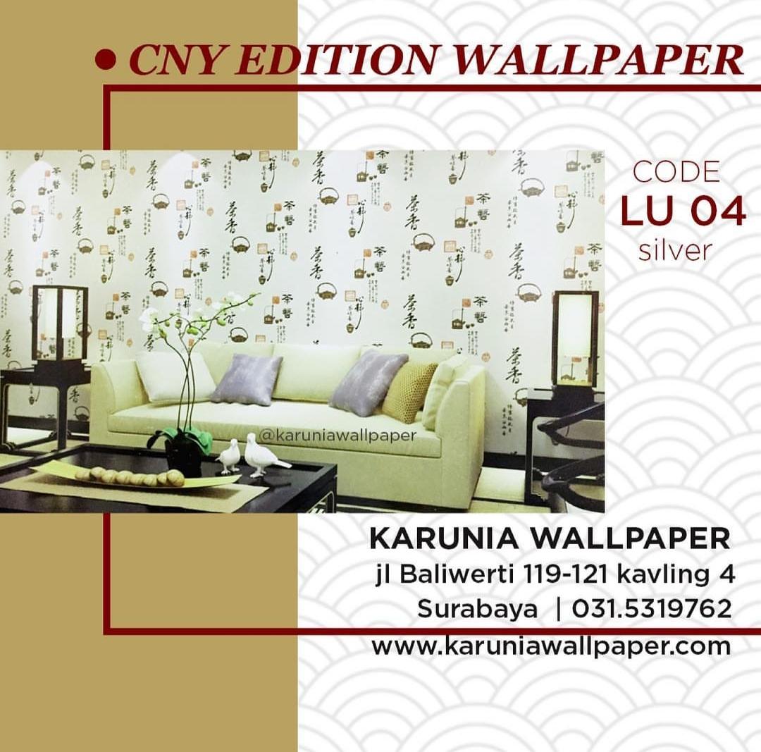 jual wallpaper kaligraffi cina oriental