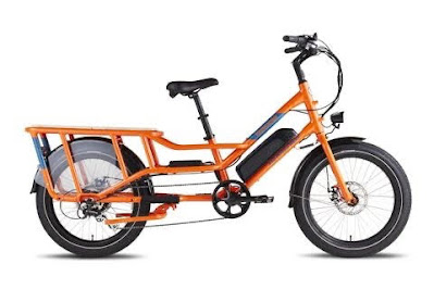 New Electric Cargo Bike Arrived and Assembled