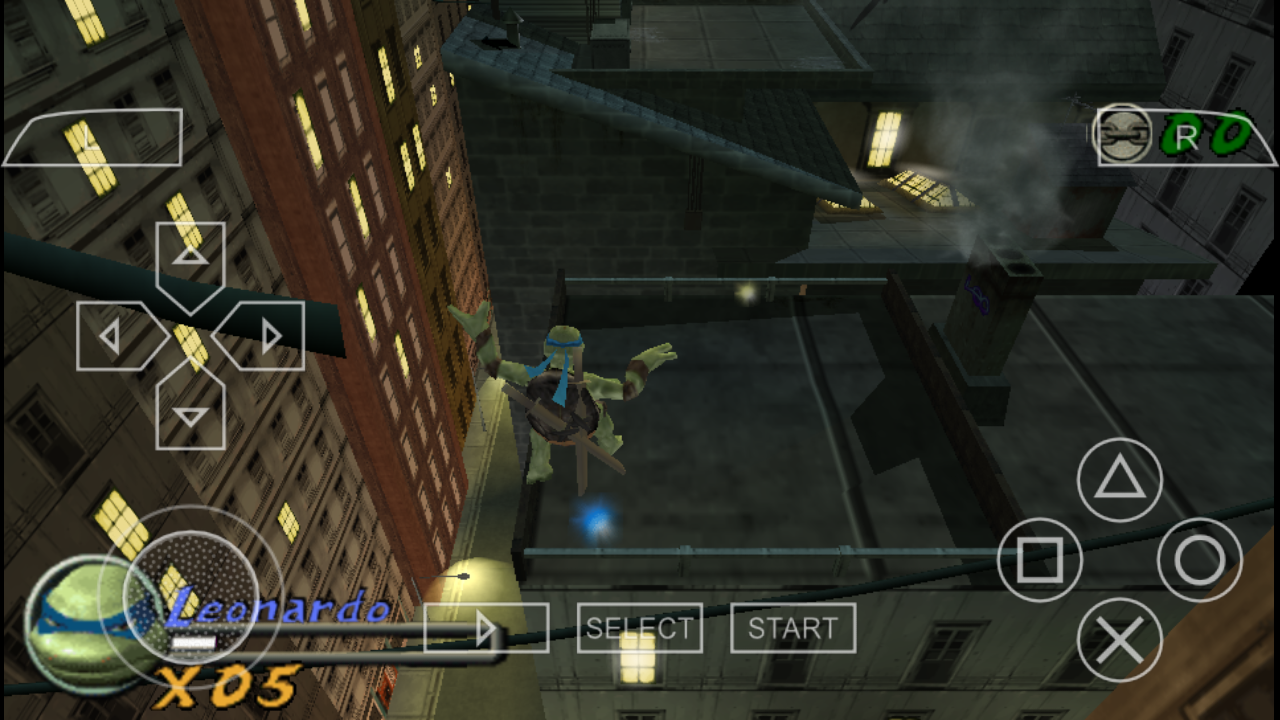 Tmnt Teenage Mutant Ninja Turtles Psp Cso Free Download -6334