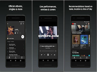 YouTube Music Apk v3.53.51 Non-Root (Premium Unlocked)