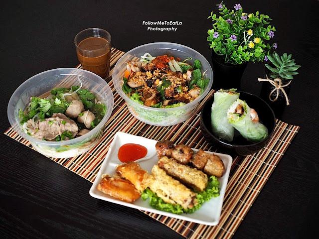 VIETNAMESE FOOD DELIVERY: RASA Viet Vietnamese Restaurant The Sphere Bangsar South Kuala Lumpur