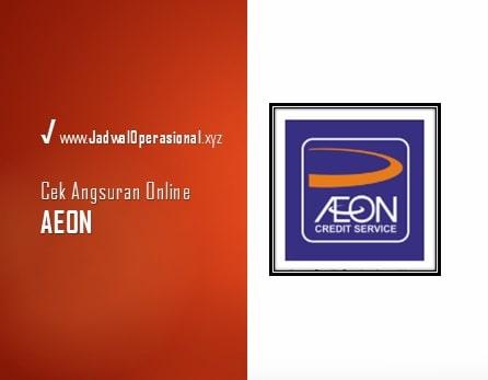 Cek Angsuran AEON Online